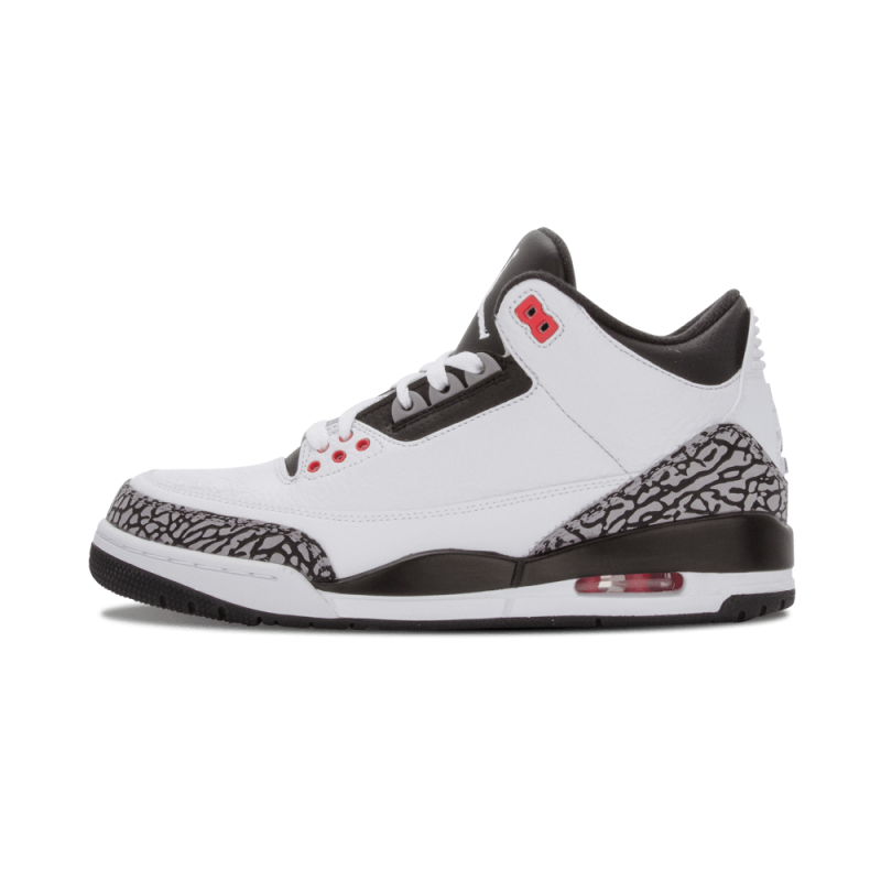 "Air Jordan 3 Retro ""Infrared"" White/Black-Grey-infantred 136064-123"