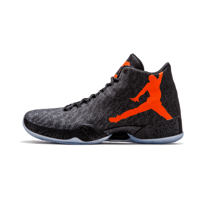 Air Jordan 29 Black/Team Orange-Dark Grey 695515-005 Cyber Monday