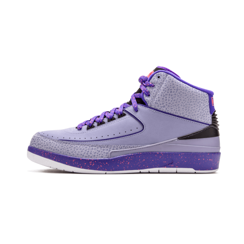 "Air Jordan 2 Retro ""Iron Purple"" Purple 385475-553 Cyber Monday"
