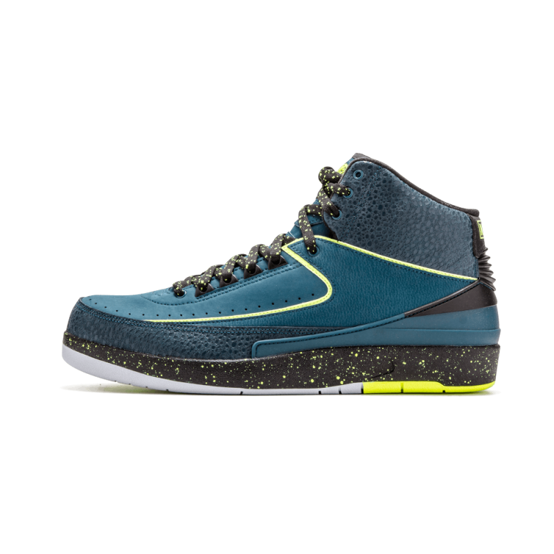 "Air Jordan 2 Retro ""Nightshade"" Green 385475-303 Cyber Monday"