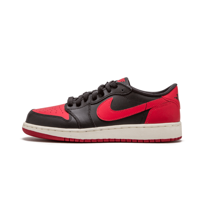 "Air Jordan 1 Retro Low OG WMNS ""Bred"" Black/Varsity Red 709999-001"