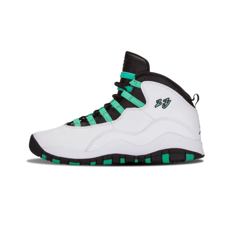 "Air Jordan 10 Retro 30th WMNS ""Verde"" White/Verde-Black-Infrared 705180-118"