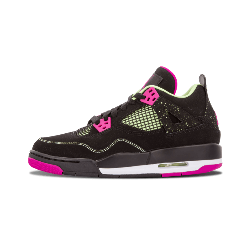 "Air Jordan 4 Retro 30th WMNS ""Fuschia"" Black/White 705344-027"