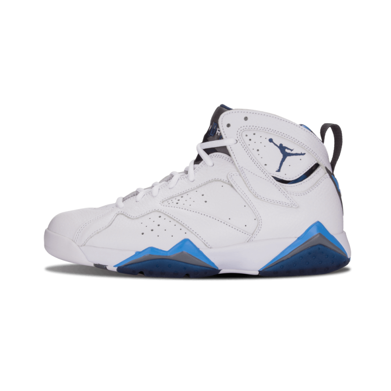 "Air Jordan 7 Retro ""French Blue"" White/Blue-University Blue 304775-107"