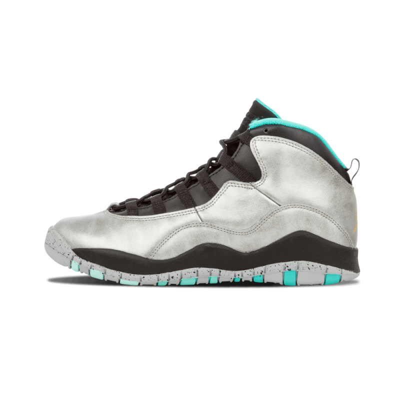 "Air Jordan 10 Retro 30th WMNS ""Lady Liberty"" Dust/Metallic Gold-Black-Retro 705179-045"