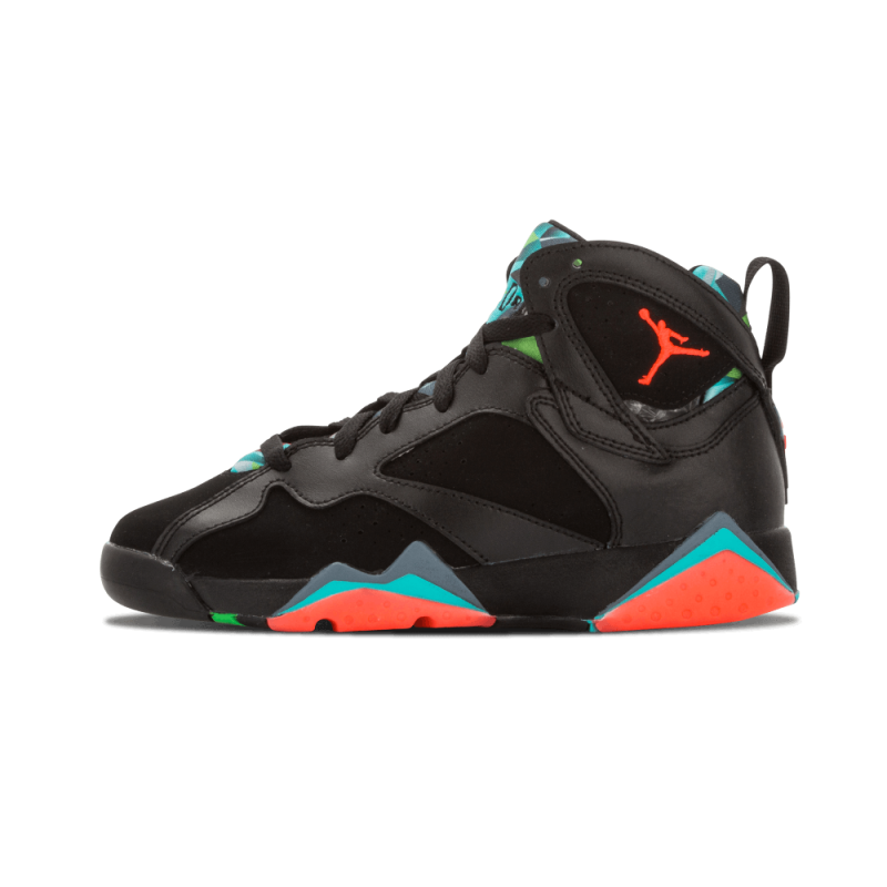 "Air Jordan 7 Retro 30th WMNS ""Barcelona Nights"" Black/Red-Blue 705412-007"