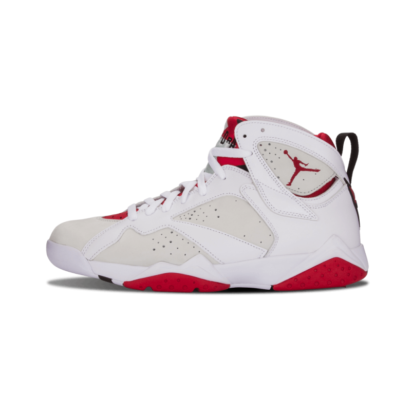 "Air Jordan 7 Retro ""Hare"" White/Red-Light Silver 304775-125"